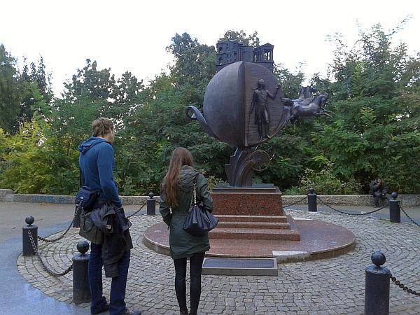 Odessa, pomnik pomarańczy